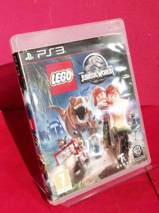 PS3 LEGO JURASSIC WORLD COMPLETO