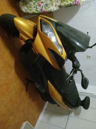 moto 125cc kimco abs