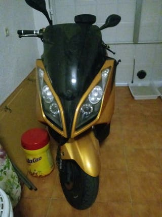 moto 125cc kimco