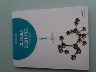 Libro Cultura científica 1°Bachillerato