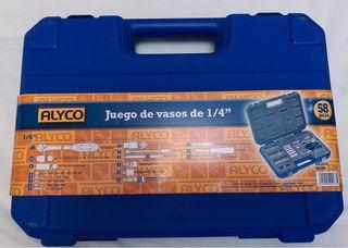 Maletin alyco herramientas 58 piezas a estrenar