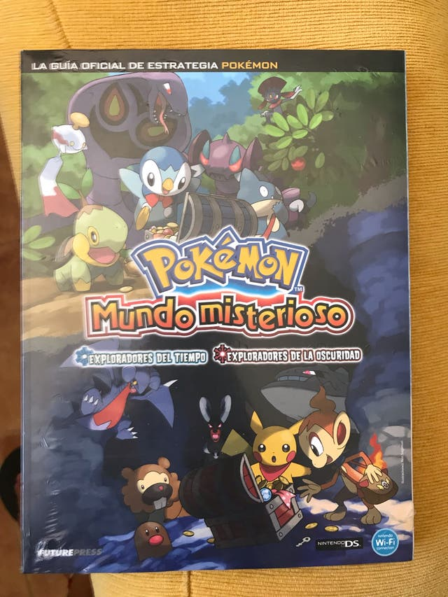 Guía Pokemon mundo misterioso