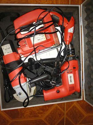 Maletin de herramientas amoladora, taladro, etc..