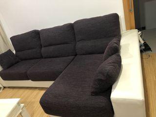 Sofá precioso con 3 cojines