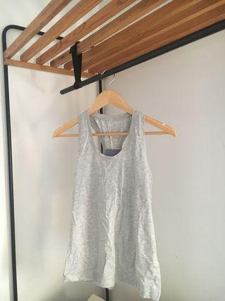 Camiseta décimas gris