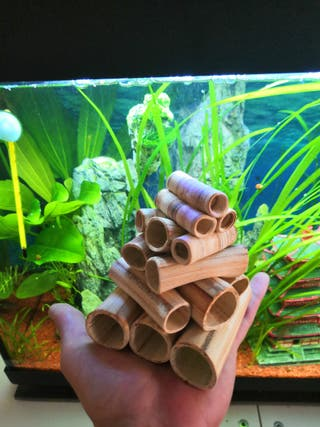 Decoración cuevas de cerámica acuario