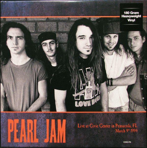 PEARL JAM Vinilo Live at Civic Center In Pensacola
