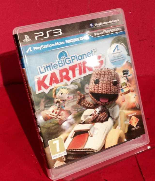 PS3 LITTLE BIG PLANET KARTING COMPLETO