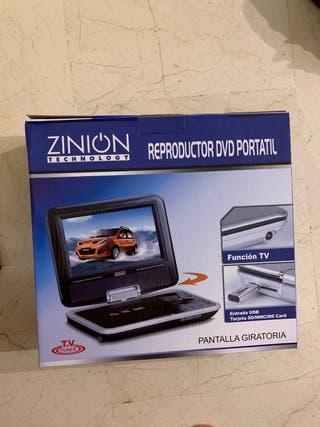 Reproductor dvd portatil para coche