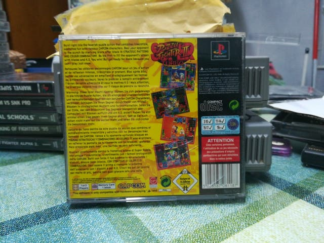 puzzle fighter II Turbo Ps1 Psx