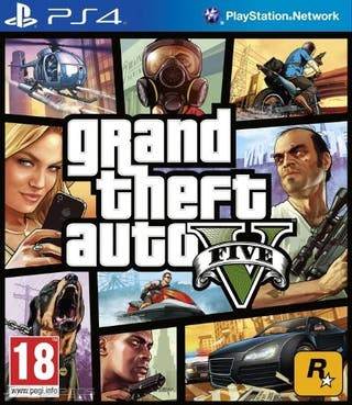 gta v digital ps4