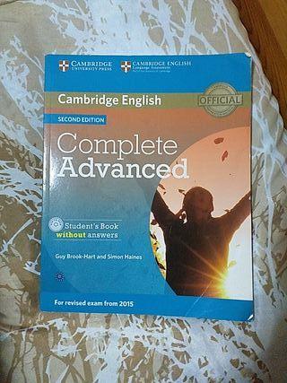 CAMBRIDGE ENGLISH, COMPLETE ADVANCED