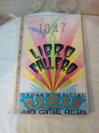 Libro fallero año 1947