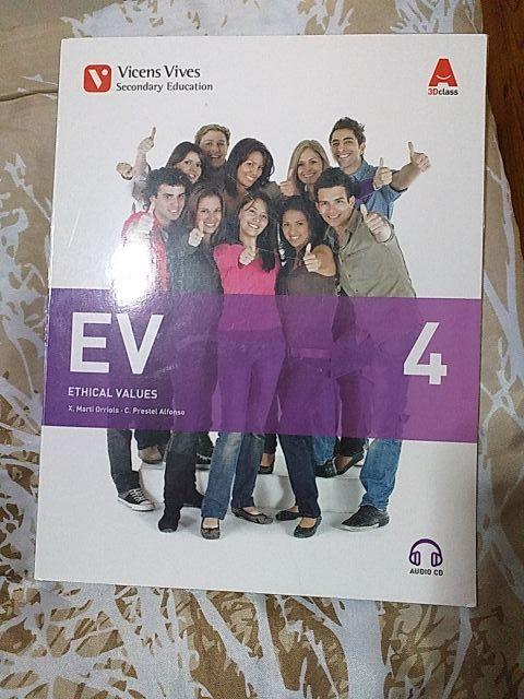 Libro texto EV ETHICAL VALUES 4 SO