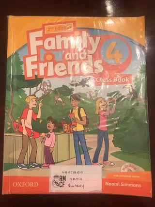 Libro texto family friends 4 primaria