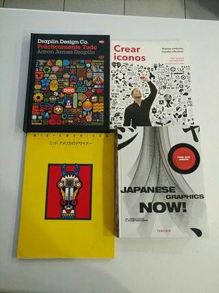 pack de libros de diseño 002