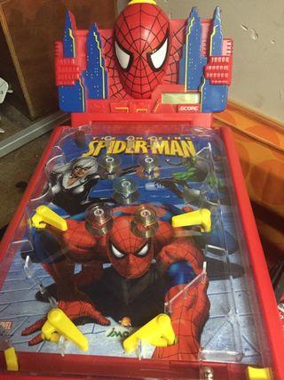 Pinball de juguete para niños
