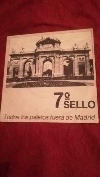 vinilo de 7 sello