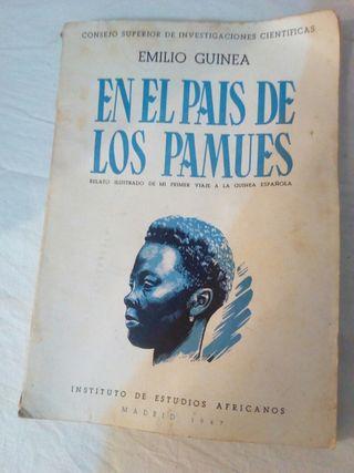 Libro antiguo en el pais de los pamues