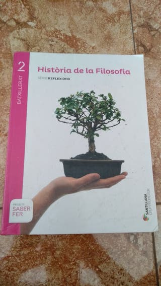 Libro Filosofía 2ºBAT