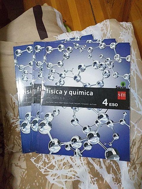 Libro de texto FÍSICA Y QUÍMICA 4 ESO