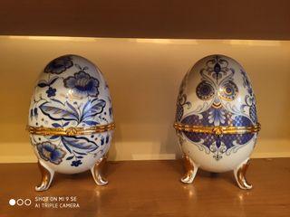 huevos ceramica