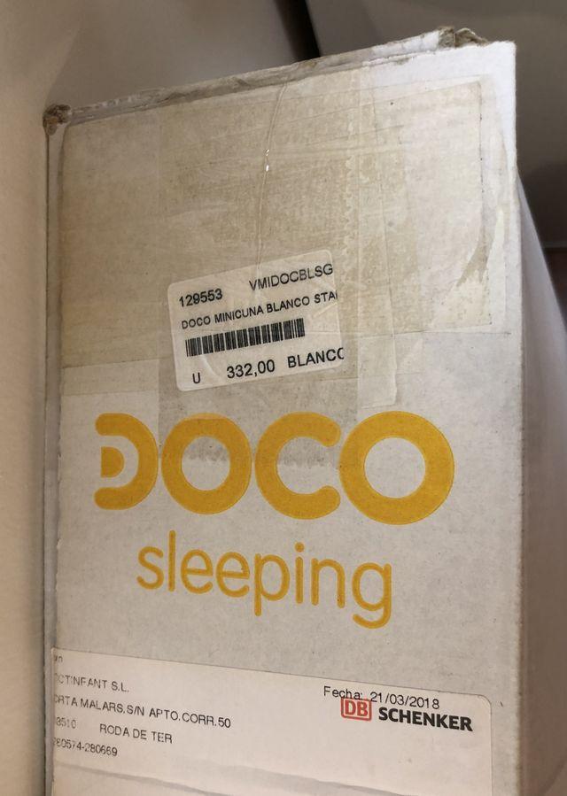 MINI CUNA COLECHO DOCO SLEEPING BLANCO 90X50