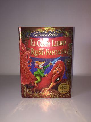 El gran libro del reino de la fantasía.