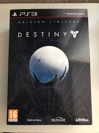 Destiny PS3 edición coleccionista