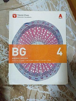 Libro de texto BIOLOGÍA Y GEOLOGÍA, 4 ESO