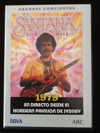 "Dvd concierto ""Santana"""