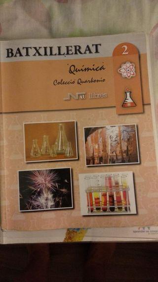 Libro de química. 2 bachiller