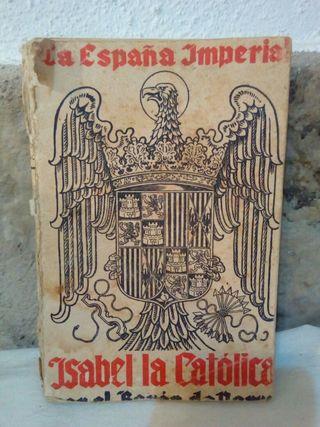 Libro antiguo la españa imperial