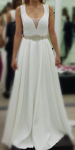 360ae1690 Vestido de novia talla 42 de segunda mano en Málaga en WALLAPOP