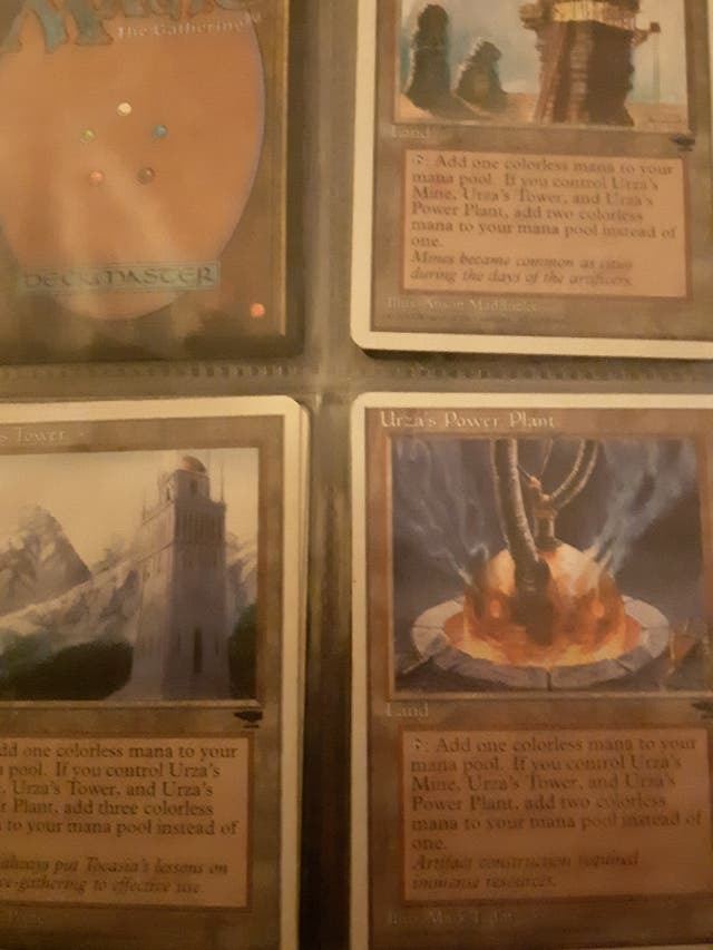 coleccion cartas magic mtg