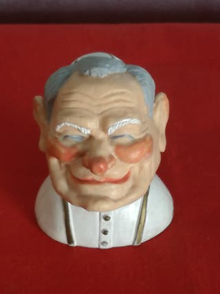 Figura rostro PAPA JUAN PABLO II.