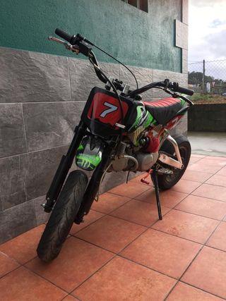 Pitbike monsterpro 160