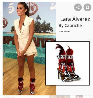 sandalias exe Lara Álvarez by capriche