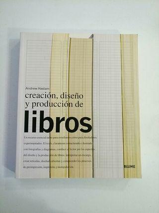 creación diseño y producción de libros