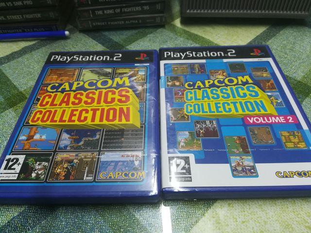 Capcom Classic Collection vol I y II Ps2