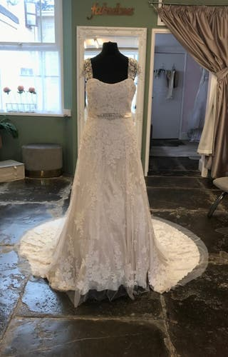 Beautiful Madeleine Gardener Bridal Gown