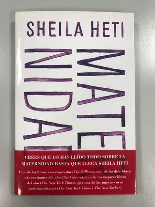 Libro Sheila Heti Maternidad