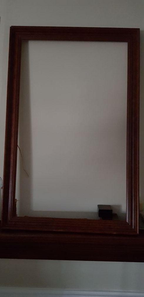 Marco cuadro de madera