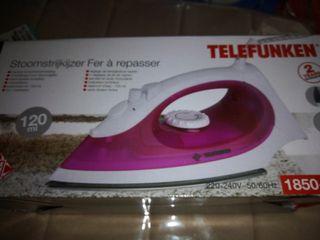 Plancha de ropa Telefunken