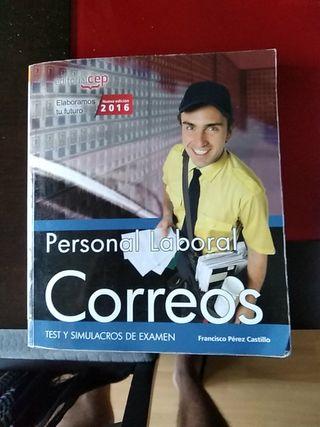 libro test Correos