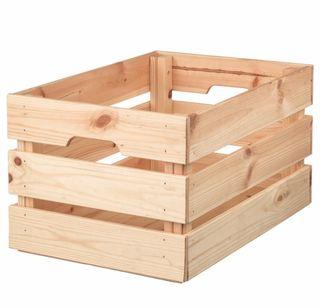 Caja pino IKEA