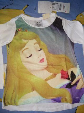 camiseta Zara 2 3 anos