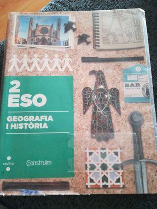 Libro Geografía I Historia 2°ESO