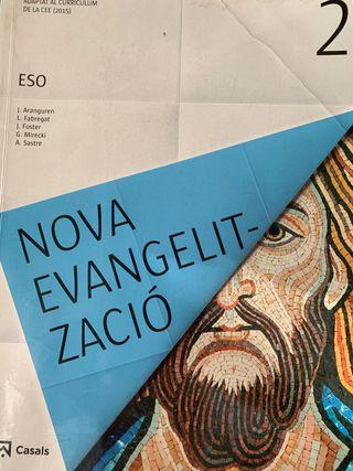 Libro texto Nova evangelització