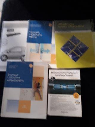 Libros grado medio Electrónica y electricidad